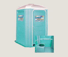 Handicap Accessible Portable Restroom